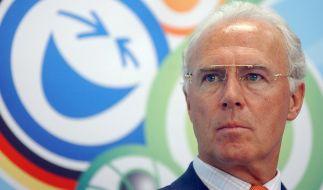 Franz Beckenbauer ist sich sicher: Bei der WM 2006 ging alles mit rechten Dingen zu. (Foto)