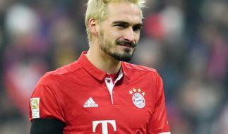Mats Hummels hat die Haare schön ... äh, blond. (Foto)