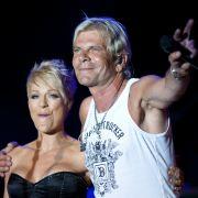 Auch diese beiden waren mal ein Paar: Matthias Reim und Wirbelwind Michelle.