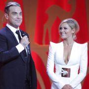 Da kommt selbst Robbie Williams gehörig ins Staunen...
