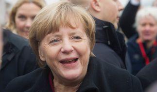 Angela Merkel hat gut Lachen: Die CDU bekam 2016 das meiste Geld durch Großspenden. (Foto)