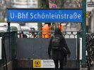 In einem Berliner U-Bahnhof haben Männer einen Obdachlosen angezündet. Jetzt stellten sich die Täter der Polizei. (Foto)
