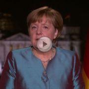 Neujahrsansprache: Merkel ruft zur Zuversicht auf