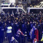 Kölner Polizei nachSilvestereinsatz in der Kritik (Foto)