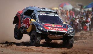 Bis zum 14. Januar 2017 geht es bei der 39. Rallye Dakar wieder durch Sand und Staub. (Foto)