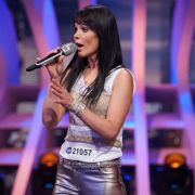 Alexandra Lexer (33), Azubi aus Bruck an der Mur, singt