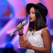 Oshini Katakoluge aus Werneck: Die 17-jährige Schülerin sing