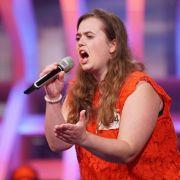 Stephanie Friebel (25) aus Nordhorn arbeitet im Kundenservice und singt