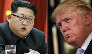 Bleibt es zwischen Kim Jong Un und Donald Trump bei bloßen Drohgebärden? (Foto)