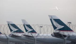 Die Airline Cathay Pacific hat sich auch 2016 an der Spitze des Rankings zu den sichersten Fluggesellschaft der Welt behaupten können. (Foto)