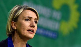 Grünen-Chefin Simone Peter steht nach ihrer Kritik an der Polizeiarbeit in Köln in der Silvesternacht im Fokus der parteiübergreifenden Kritik. (Foto)