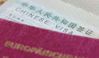 Wer nach China reisen möchte, muss vorab offiziell ein Visum beantragen. (Foto)
