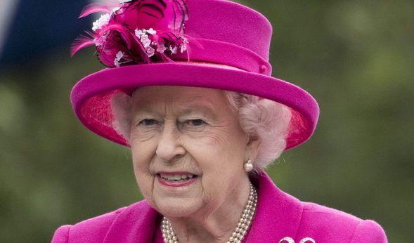Queen Elizabeth II. krank