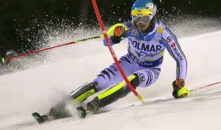 Felix Neureuther startet am 5.1.2107 beim Slalom der Herren in Zagreb. (Foto)