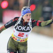 Gewinner und Ergebnisse: Koukalova beim Sprint der Damen vorn (Foto)
