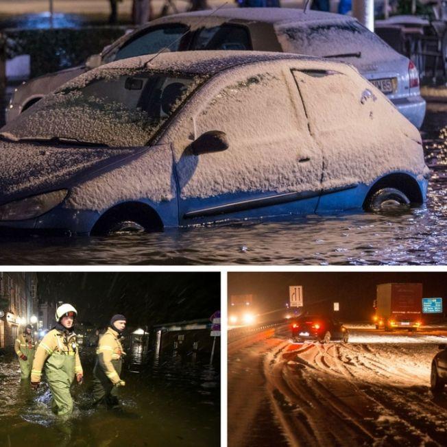 Schlimmste Ostsee-Sturmflut seit 2006 - Tief Axel bringt klirrende Kälte - Hoch Angelika im Anmarsch (Foto)