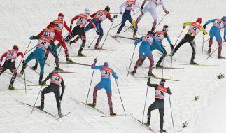 Die letzte Etappe bei der 11. Tour de Ski 2016/2017 wirft ihre Schatten voraus. (Foto)