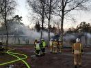 Feuer in Flüchtlingsheim