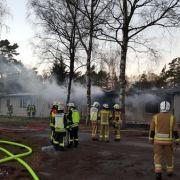 30 Verletzte! Polizei nimmt 5 mutmaßliche Brandstifter fest (Foto)
