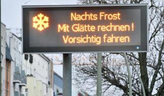 Es bleibt eisig in Deutschland. (Foto)