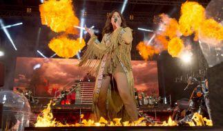 Andrea Berg will 2017 weniger mit dem Feuer spielen. (Foto)