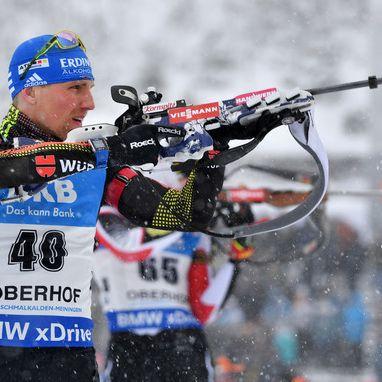 Arnd Peiffer sichert sich Biathlon-Podest in Oberhof (Foto)