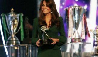 Ihre hinreißende Figur verdankt Kate Middleton einem strengen Fitness-Programm. (Foto)