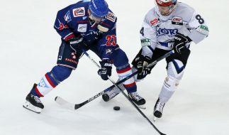 Schwenninger Wild Wings trafen auf Adler Mannheim beim DEL Eishockey Winter Game 2017 am 7. Januar. (Foto)
