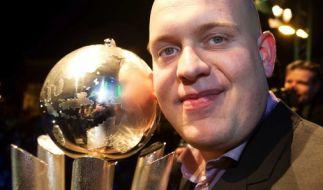 Der Niederländer Michael van Gerwen ist zweimaliger Darts-Weltmeister. (Foto)