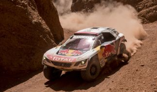 Die Rallye Dakar findet 2017 erstmals auch in Paraguay statt. (Foto)