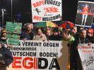 Legida-Demonstration heute am 09.01.2017
