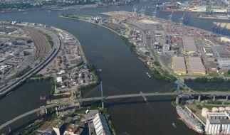 Am Hamburger Hafen verschwand der HSV-Manager spurlos. (Foto)