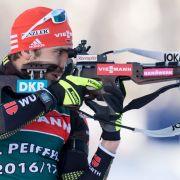 Deutsche Biathlon-Herren holen Bronzein Ruhpolding (Foto)