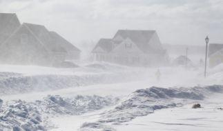"""Tief """"Egon"""" soll für einen heftigen Schneesturm in Deutschland sorgen. (Foto)"""