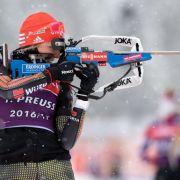 Gold! Laura Dahlmeier läuft die deutsche Biathlon-Staffel zu Gold (Foto)