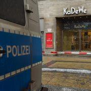 Einbruch in Berliner Luxus-Kaufhaus KaDeWe (Foto)