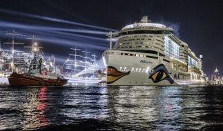 """Sieben Meter hohe Wellen führten zur Überflutung des """"Aida""""-Partyraums. (Foto)"""
