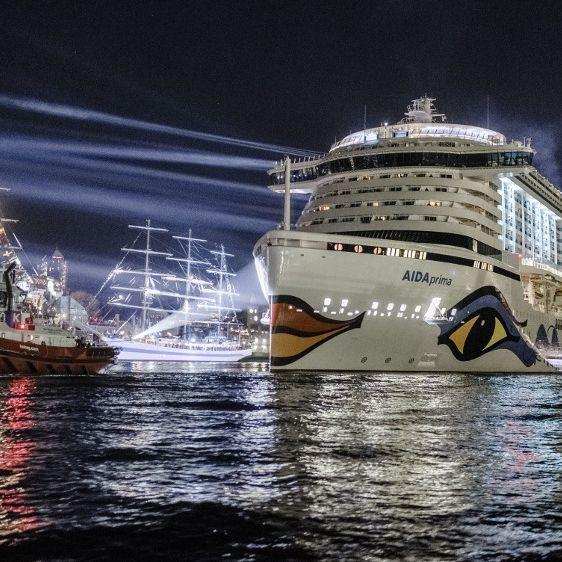 """Wellen treffen """"Aida""""-Kreuzfahrtschiff! Mehrere Verletzte (Foto)"""