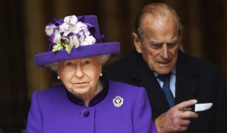 Queen Elizabeth II. und Prinz Philip. (Foto)