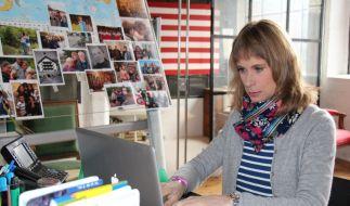 Sandra Eckardt macht sich auf die Suche nach vermissten Menschen. (Foto)