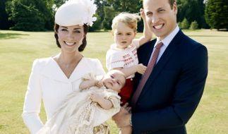 Herzogin Kate, Prinz Williams, Prinz George und Prinzessin Charlotte im Sommer 2015. (Foto)