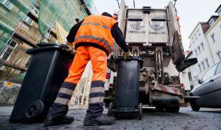 Bei einem Arbeitsunfall in Rohrbach starb ein 45-jähriger Müllmann. (Foto)