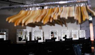 Die Ruhe vor dem Sturm: Die Berlin Fashion Week wird am Dienstag, dem 17. Januar 2017, feierlich eröffnet. (Foto)