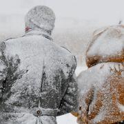Bei so manchem Schneesturm wurde es richtig ungemütlich. Da half selbst die dickste Winterjacke nicht viel.