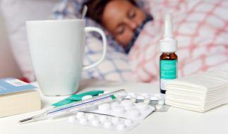 Die Grippewelle hat auch in Deutschland bereits erste Todesopfer gefordert. (Foto)