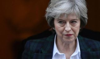 Theresa May will einen zügigen Brexit - und will die EU erpressen. (Foto)