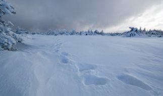 Tief Finja sorgt für 1,5 Meter Neuschnee. (Foto)