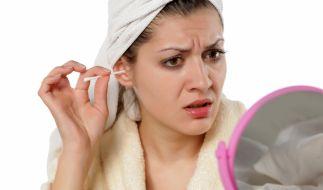 Wattestäbchen haben nichts im Ohr zu suchen (Foto)