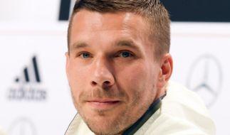Fußball-Liebling Lukas Podolski (Foto)