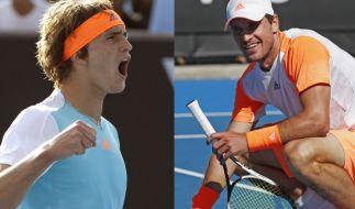 """Alexander """"Sascha"""" Zverev und sein größerer Bruder Mischa mischen gemeinsam die Tenniswelt auf. (Foto)"""